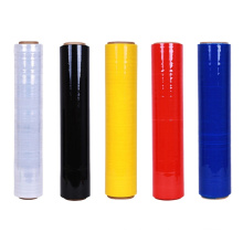 Color LLDPE Polyethylene Wrap Black Stretch Film for Packing Pallet Sealing Film