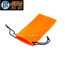 Custom Logo Impression Lunettes de soleil Microfiber Double Pull Pouch