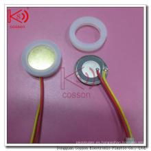 Buena calidad ultrasónica 20m m RoHS ISO9001 pedazo de la atomización 1.7MHz