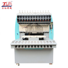 Factory directly provided for China Silicone Label Dispensing Machine, Silicone Patch Dispensing Machine, Silicone Usb Case Dispensing Machine, 8 Color Silicone Dispensing Machine Supplier Full Automatic PVC Plastic Dripping Machine supply to Netherlands