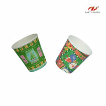 Bright Colorful Christmas Disposable Cups