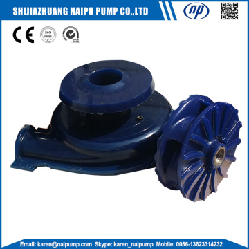 Polyuretan Elastomer Pump Parts