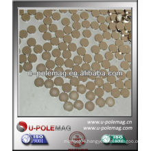 Neodymium D10mm Disc Magnet With NiCuNi Coating for sale