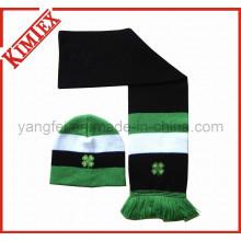 Mode Acryl Winter Wärmer Hut und Schal gestrickt Set