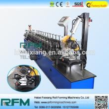 Máquina de formação de rolo frio de canal de metal