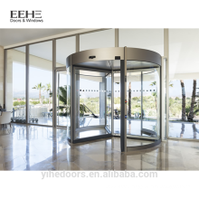 Hotel main entrance pivot door design