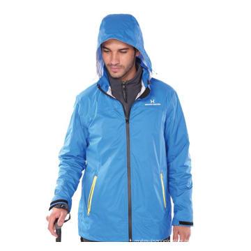 DTY Nylon Rip-Stop with PU coating Jacket