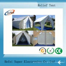 Tentes de protection contre les catastrophes, résistantes au feu, résistantes aux UV et à la moisissure