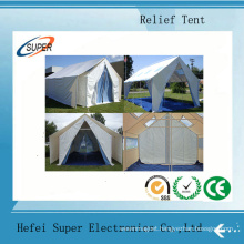 Durable, Fire Retardant, UV and Mildew Resistant Disaster Relief Tents