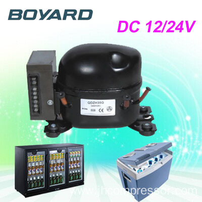R134a compressor refrigerator 12 volt 24 volt qdzh35g for for Air compressor for pool closing