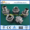 DIN2990 SS304 Stainless Steel Female Weld Hexagon Nipple