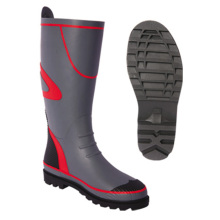 Cheap for China Manufacturer of Kids Rubber Boot,Fireman Rubber Boot,Pvc Shoe Cover,Rain Shoe Cover Men&Women Grey Half Rubber Rain Boots export to Serbia Wholesale