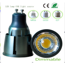 Ce and Rhos Dimmable MR16 9W COB LED Bulb