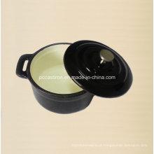 Fornecedor do potenciômetro da caçarola do bolo do ferro de molde do esmalte de China