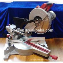 Nouveau 1800w Low Noise Long Life Power Coupe en aluminium Cut Off Saw Induction Silent Motor Electric 255mm Slide Mitre Saw GW8020