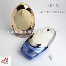 HF012 Empty lotion container luxury cream bottle plastic cosmetic packaging cream jar