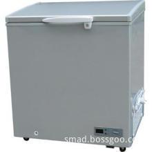 top open single door solid door chest freezer for ice cream