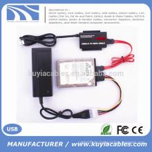 """High Speed USB 3.0 zu IDE / SATA Konverter für 2,5 """"/ 3,5"""" Festplatte mit OTB"""
