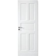 Porta composta branca personalizada do MDF do projeto do banheiro, porta exterior