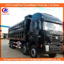 25tons 30tons Hongyan Genlyon 8 * 4 Heavy Duty Dump Trucks