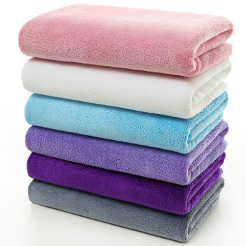 Bath Hair Spa Microfiber Soft Cleaning مناشف
