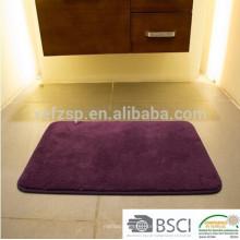 machine washable shaggy microfiber bath mat