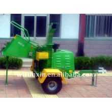 Diesel Engine powered industrial wood chipper with CE certificate