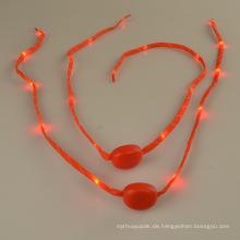 Wasserdichte bunte LED blinkende Schnürsenkel