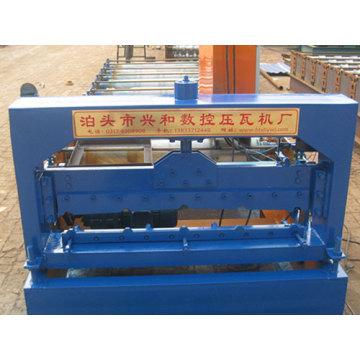 Máquina formadora de revestimientos de paredes de azulejos de acero