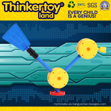 Mini juguete educativo plástico del tren del niño