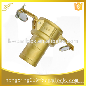 """Brass Camlock Couplings, type C, size from 1/2"""" to 6"""""""