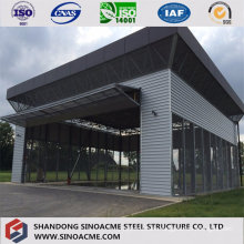Steel Structure Building for Carport with Design