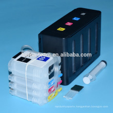 For hp 10 82 ciss for hp designjet 500 500ps 800 800 printer bulk ciss with refill ink cartridge and chip