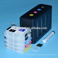 Para hp 10 82 ciss para hp designjet 500 500ps 800 800 impressora ciss em massa com recarga de cartuchos de tinta e chip