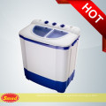 Domestic semi automatic twin tub mini clothes washing machine