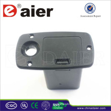 Daier with ear 9v battery case with cover 9v battery holder