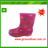 Newest Children Girls Rainboots (GS-0901A)