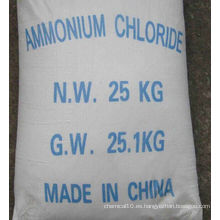 Nuevo producto 99,5% Fertilizante químico Cloruro de amonio