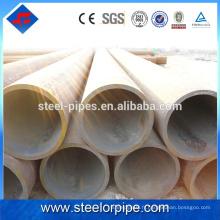Liste des produits d'exportation de tubes sans soudure en acier au carbone