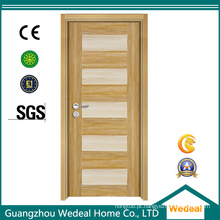 Porta de madeira da melamina nova do projeto para o interior com E1 (WDP2025)