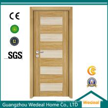Новый дизайн меламина деревянные двери для интерьера с Е1 (WDP2025)