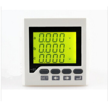 3AV7y Taille du panneau 80 * 80mm Prix usine Prix triphasé AC LCD Digital Display Voltmeter