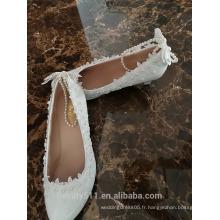 Chaussures femmes en gros Chaussures décontractées pour femmes Chine Chaussures plates pour mariage Chaussures décontractées WS046