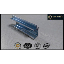Aluminum Profile for Kitchen Cabinet Handle with Anodized Silver Brushed
