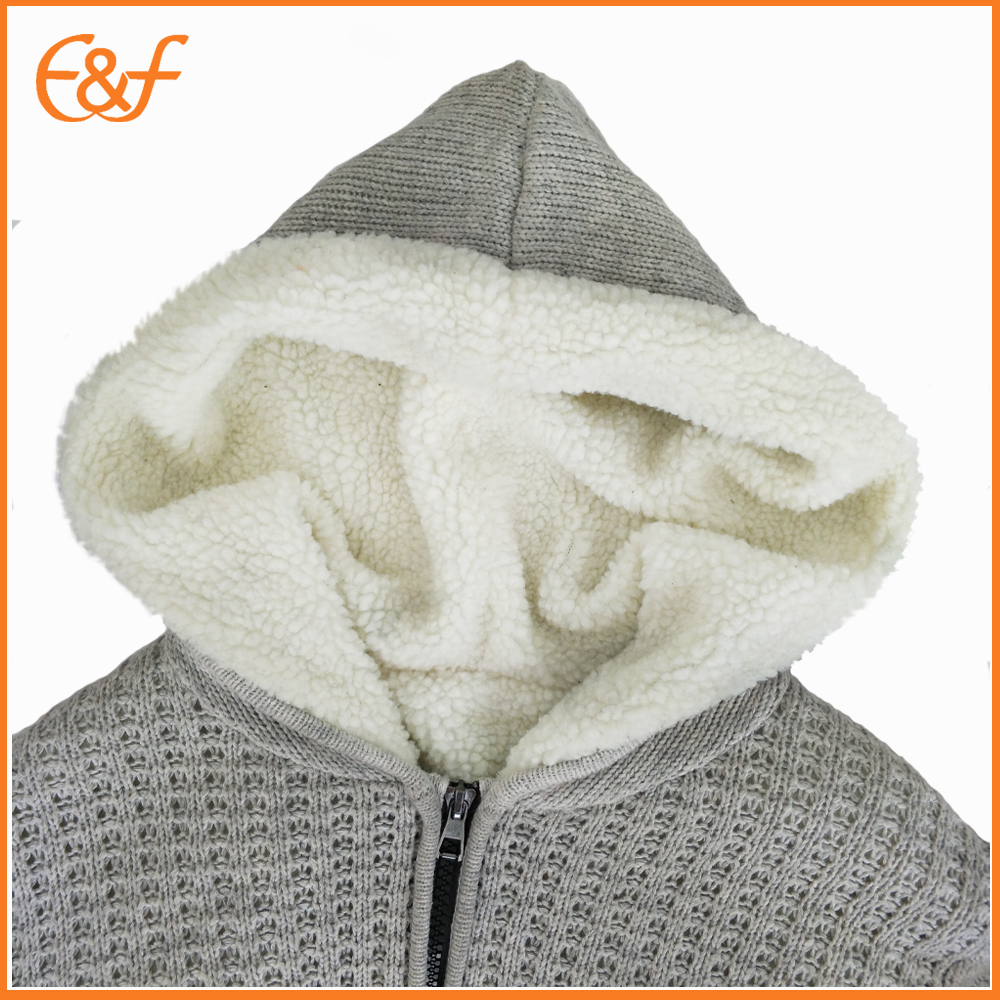Double Layer sweater hooded