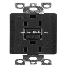 YGB-092NL-WR GFCI 15A industrial electrical usa outlet socket receptacle designed for generators