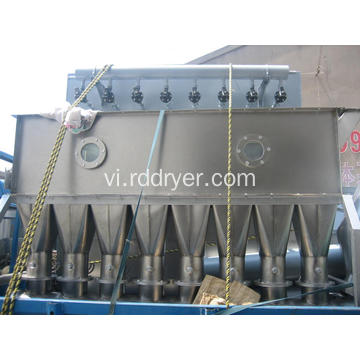 Muối vô cơ Vibrating Fluidized Bed Dryer