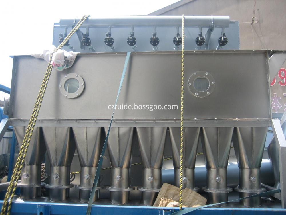 XF Series Horizontal Fluid Bed Dryer for Chemical Raw Materials