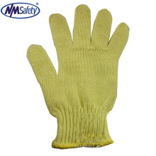 NMSAFETY fibras de aramida calibre 7 guantes de trabajo / guantes de trabajo en388 4343