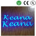 Fabrico de alta qualidade acrílico LED cartas publicidade sinais
